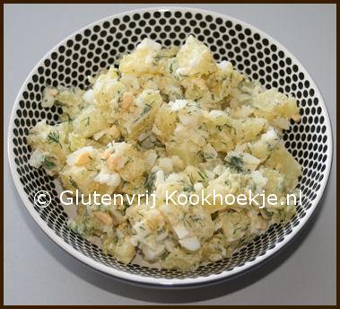 aardappelsalade met dillekruid